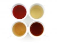 Čtyři druhy čaje