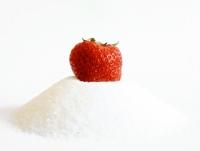 Cukr s jahodou