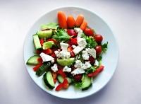 Dietní salát bez masa