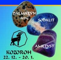 Kameny pro Kozoroha