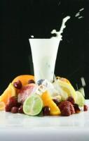 Mléko s ovocem
