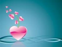 Srdcový květ