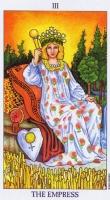 Tarotová karta na měsíc prosinec - Císařovna #Tarot
