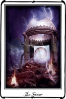 Tarotová karta Věž