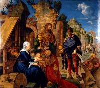 Tři králové: Iniciály nad dveřmi příbytků